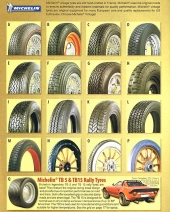 Michelin Vintage Tyres - Michelin TRX Tyres
