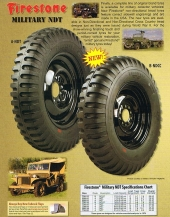 Firestone Military NDT Tyres