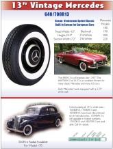 """13"""" Vintage Mercedes"""