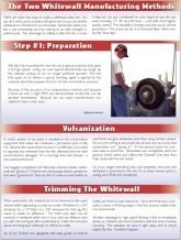 Whitewall Manufacturer Methods